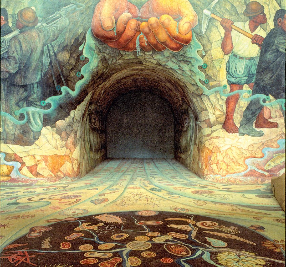 Mural De Diego Rivera Sobre La Revolucion Mexicana
