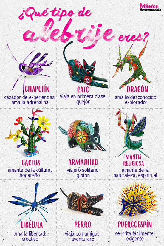 Los alebrijes de tilcajete oaxaca m xico desconocido for Tipos de arboles y su significado