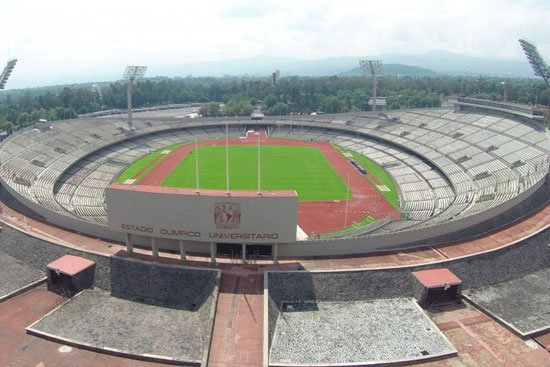 Estadio Olímpico Universitario / Wikimedia Commons