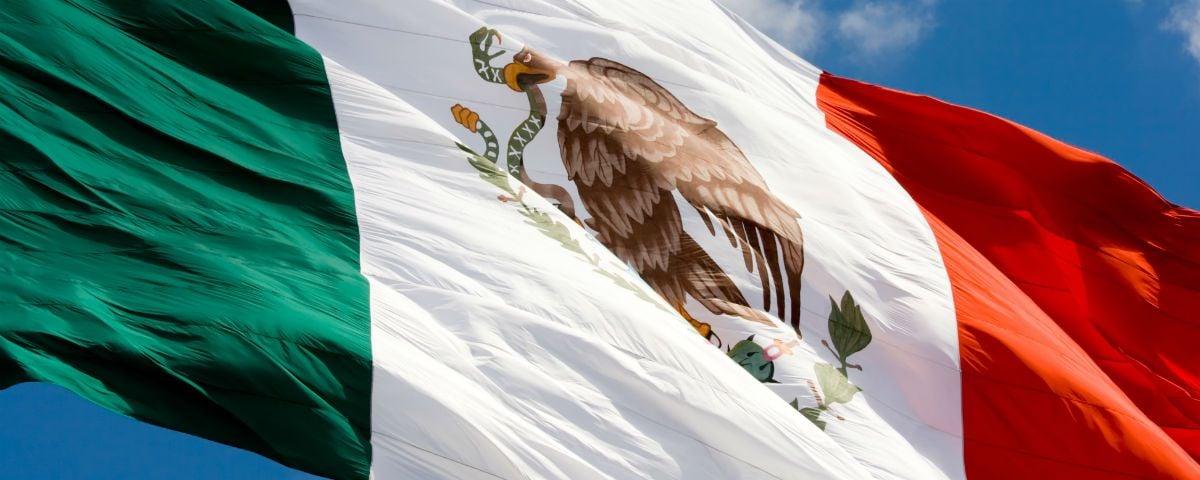 El error desconocido en la bandera de México