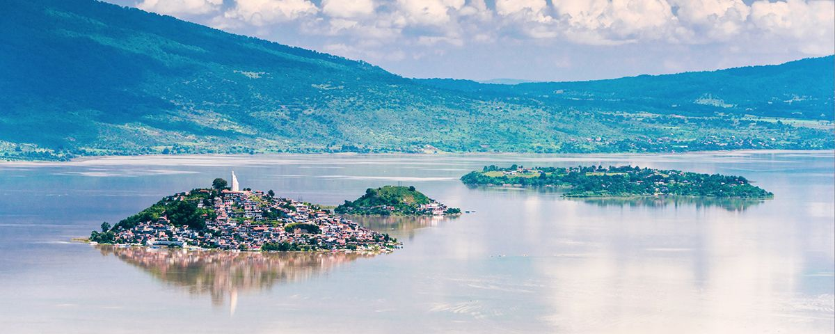 Las islas del Lago de Pátzcuaro, Michoacán