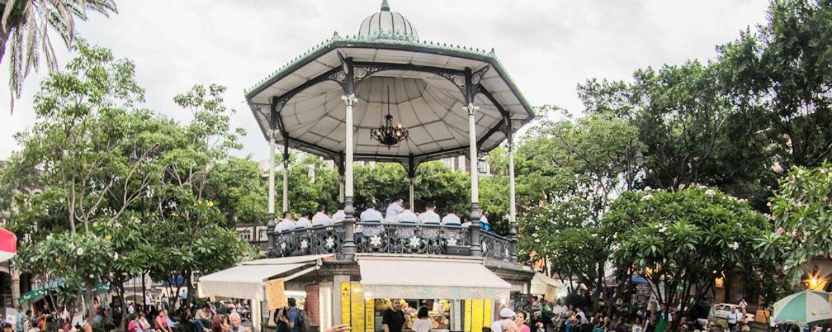 El creador de la Torre Eiffel hizo un kiosco en Cuernavaca