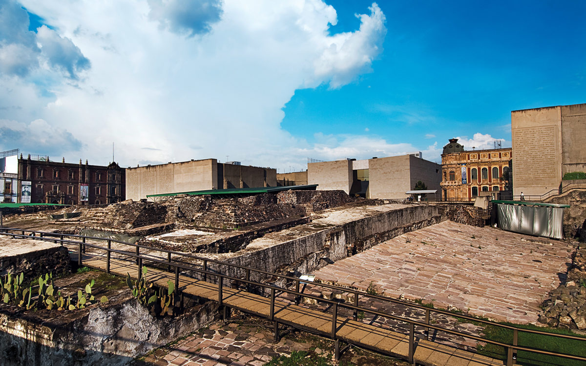 El Templo Mayor de Mexico-Tenochtitlan