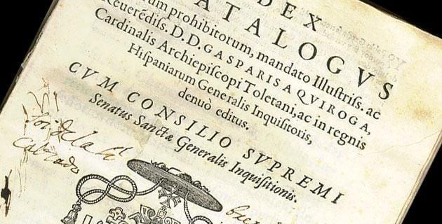Libros prohibidos, así eran tratados en la Nueva España