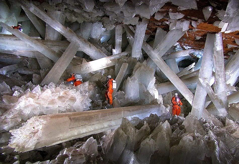 Gigantescos cristales bajo tierra en Chihuahua: Naica   México Desconocido
