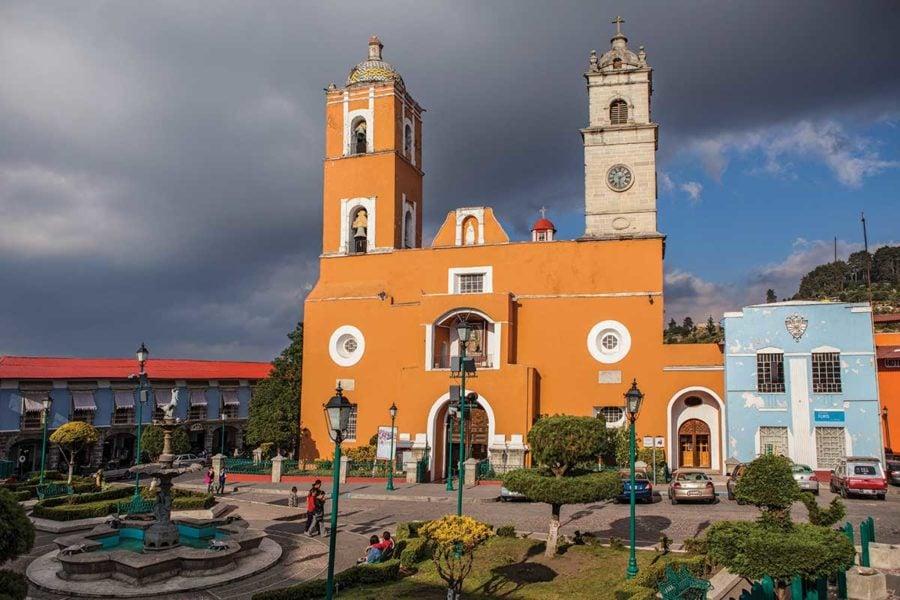 Parroquia de la Asunción en Real del Monte, Hidalgo