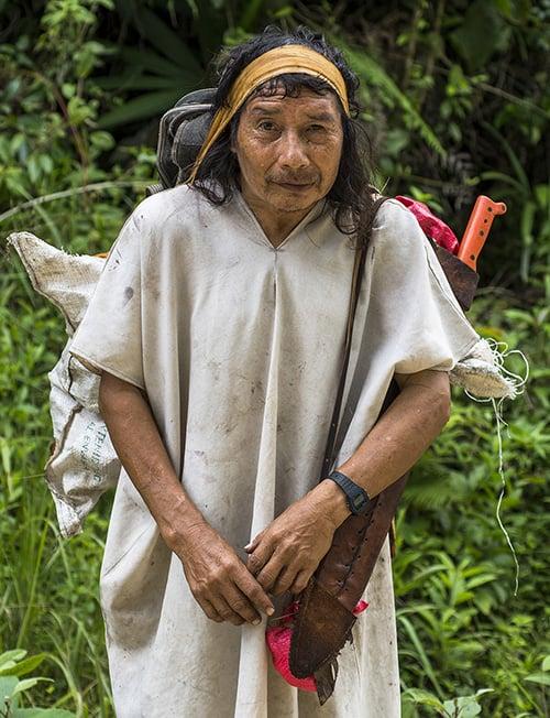 Maya lacandón, Selva Lacandona.