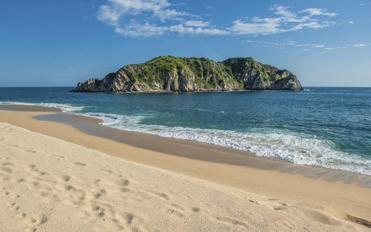 Las 5 mejores playas de oaxaca m xico desconocido - Fotos de hamacas en la playa ...