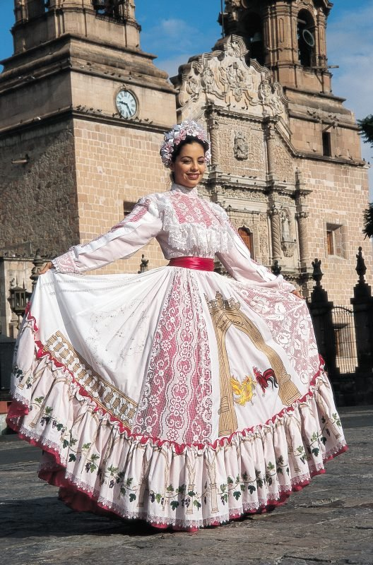 Traje típico del estado de Aguascalientes.