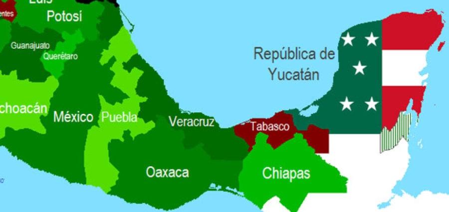 Cuando la Península de Yucatán se separó de México
