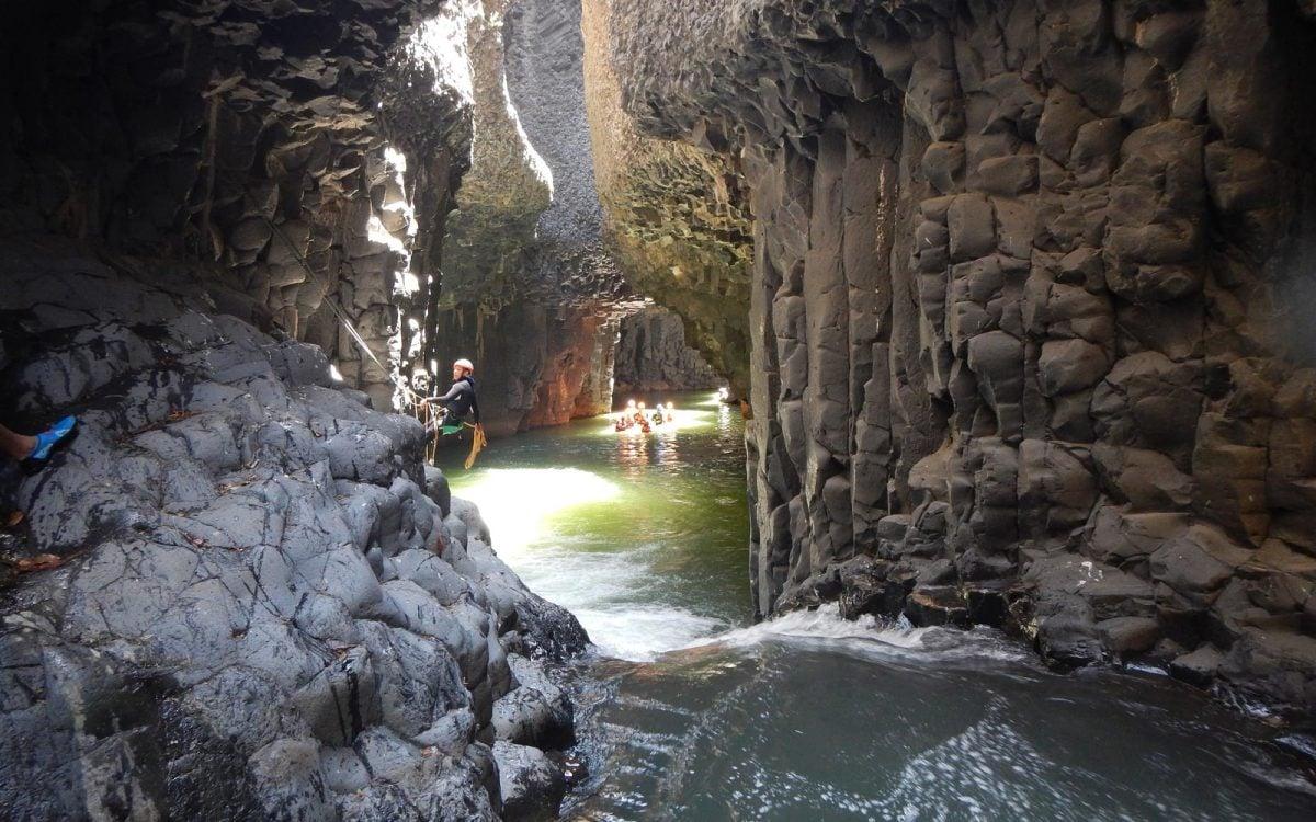 Garganta de la Iguana, un rincón secreto de Malinalco