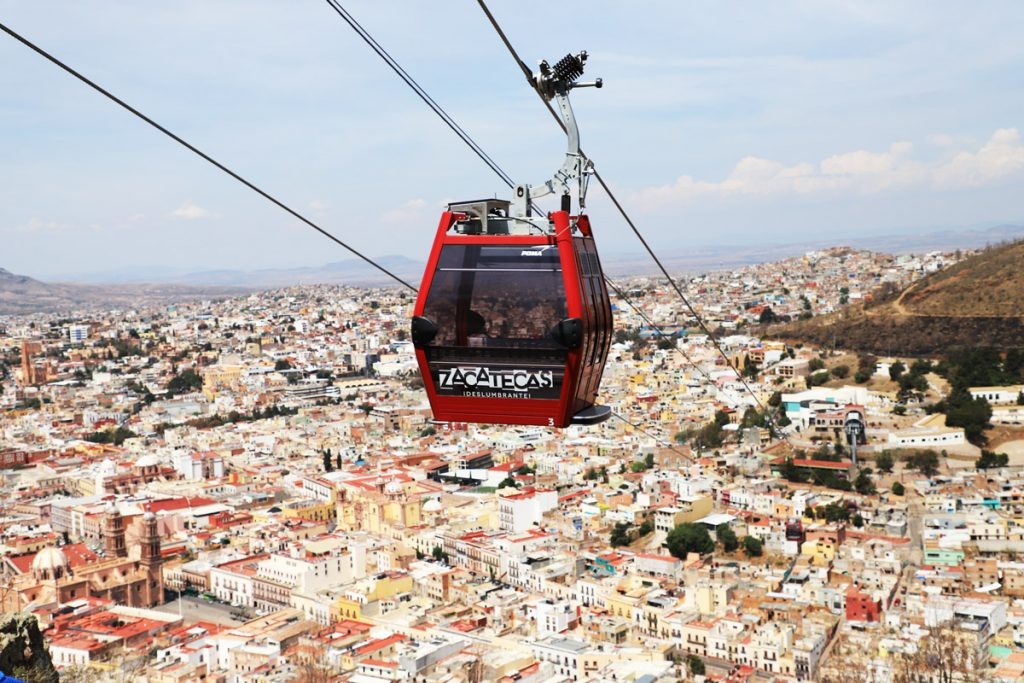 Zacatecas cable car returns