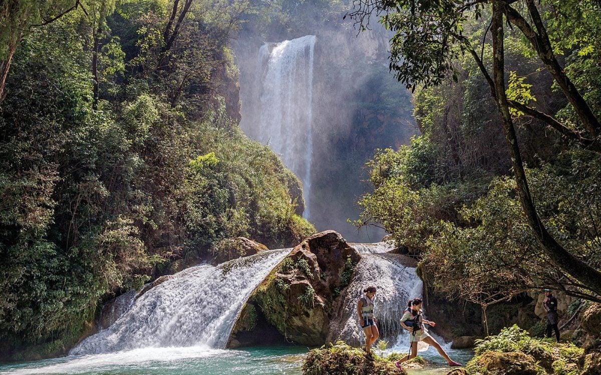 3 cascadas inexploradas en Chiapas