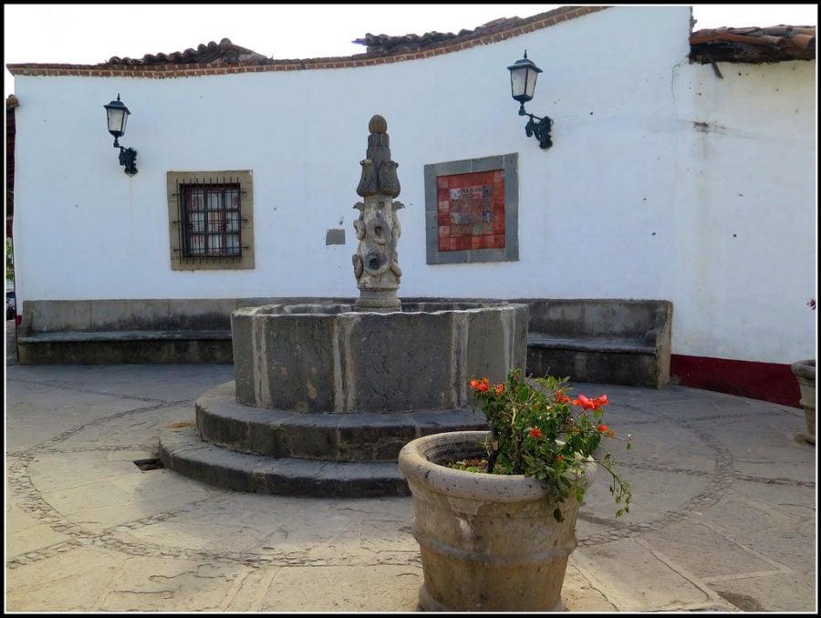 Fuente de las culebras en Tapalpa, Jalisco