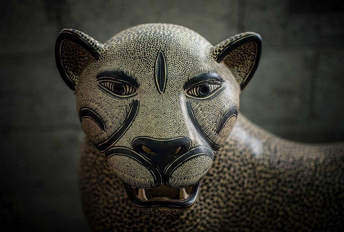 Juana Gómez Ramírez, la célebre hacedora de jaguares de Amatenango