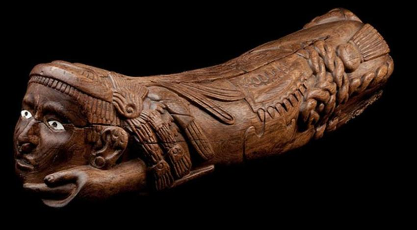 Teponaztli, el instrumento que era considerado un ser vivo y con voluntad propia