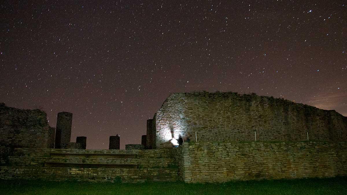 Cazar estrellas en La Quemada, Zacatecas